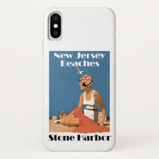 New Jersey Beaches ~ Stone Harbor iPhone X Case