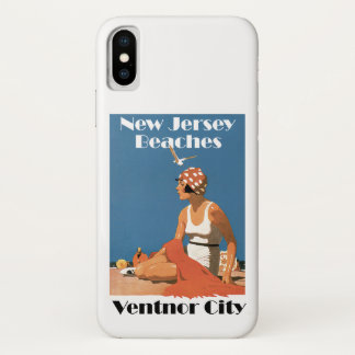 New Jersey Beaches ~ Ventnor iPhone X Case