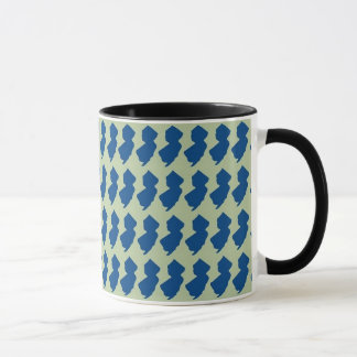 New Jersey Blue and Black Ringer Mug