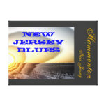 New Jersey Blues NJ Stretched Canvas Prints