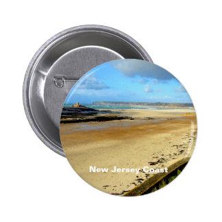 New Jersey Coast, NJ 2 Inch Round Button