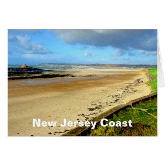 New Jersey Coast, NJ Card