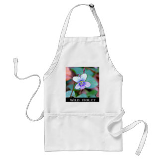 New Jersey Common Violet Standard Apron