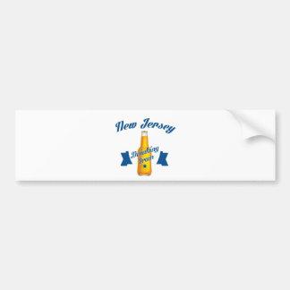 New Jersey Drinking team Bumper Sticker