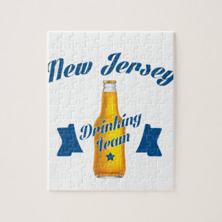 New Jersey Drinking team Jigsaw Puzzle
