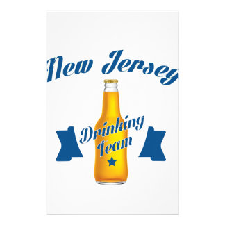 New Jersey Drinking team Stationery