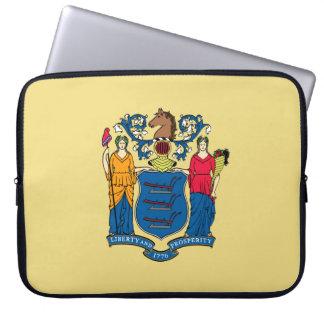 New Jersey Flag Laptop Sleeve