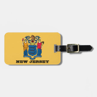 New Jersey Flag Luggage tags
