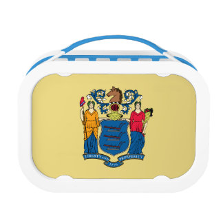 New Jersey Flag Lunch Box