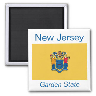 New Jersey Flag Magnet
