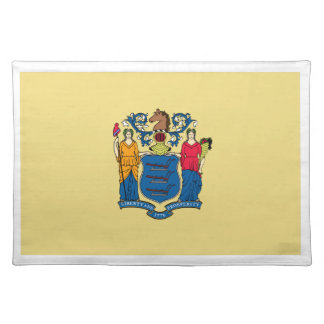 New Jersey Flag Placemats