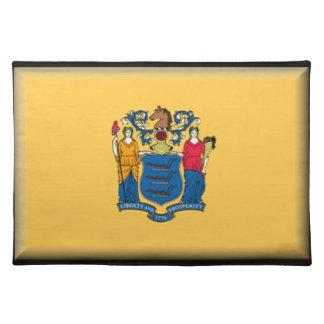 New Jersey Flag Place Mat