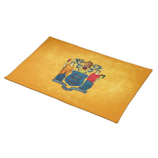 New Jersey Flag; Placemat