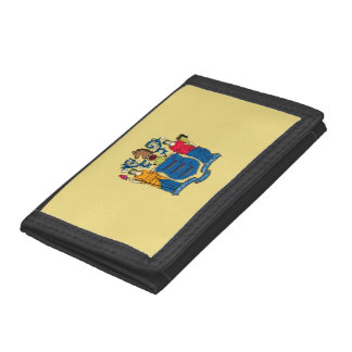 New Jersey Flag Tri-fold Wallets