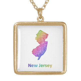 New Jersey Gold Plated Necklace