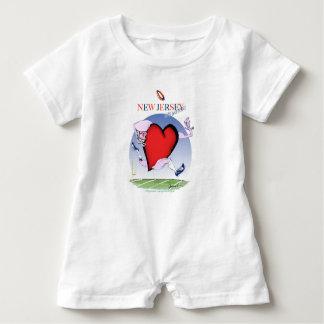 new jersey head heart, tony fernandes baby romper