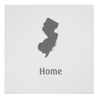 New Jersey Home Poster