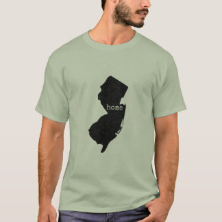 New Jersey home typed T-Shirt