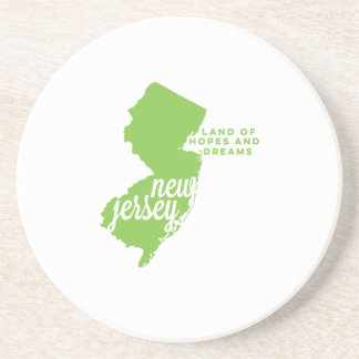 new jersey | hopes and dreams | apple green coaster