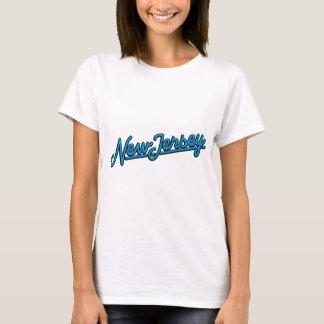 New Jersey in cyan T-Shirt