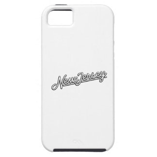New Jersey in white Case For The iPhone 5