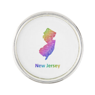 New Jersey Lapel Pin