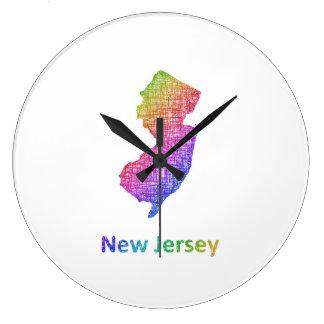 New Jersey Large Clock