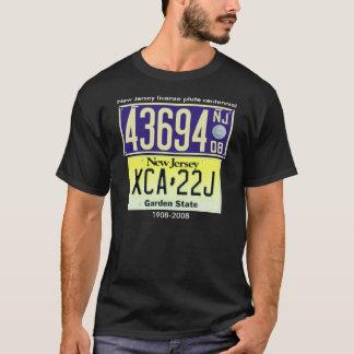 New Jersey License Plate Centennial T-Shirt