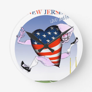 new jersey loud and proud, tony fernandes round clock