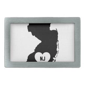 New Jersey Love Belt Buckle