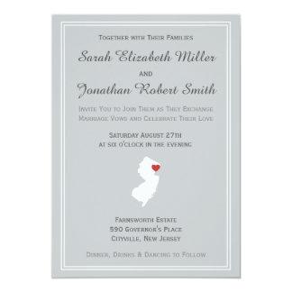 New Jersey Love - Customizable Wedding Invitation