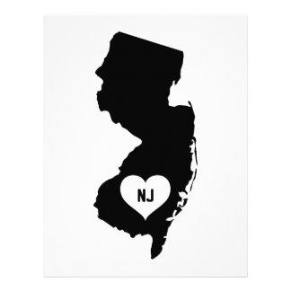New Jersey Love Letterhead