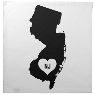 New Jersey Love Napkin