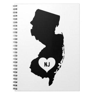 New Jersey Love Notebook