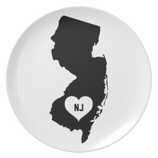 New Jersey Love Plate