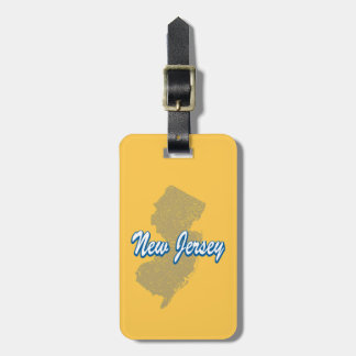 New Jersey Luggage Tag