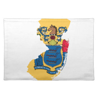 NEW JERSEY MAP PLACE MATS