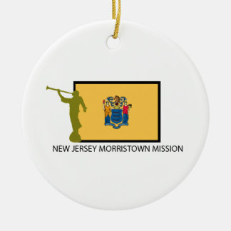 NEW JERSEY MORRISTOWN MISSION LDS CTR CERAMIC ORNAMENT