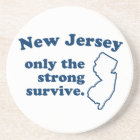 New Jersey Only The Strong Survive Coaster