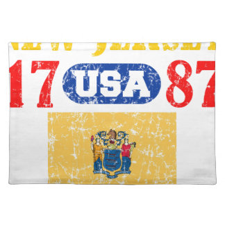 NEW JERSEY PERFECT TOGETHER DISTRESSED PRODUCTS CLOTH PLACE MAT
