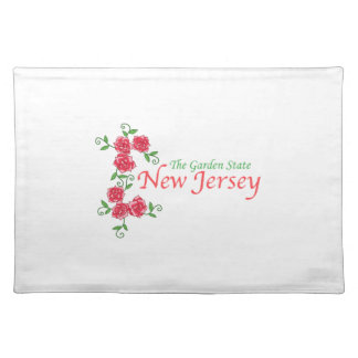 NEW JERSEY CLOTH PLACEMAT