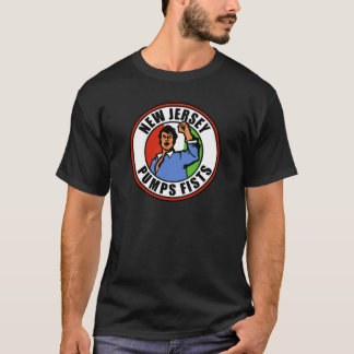 New Jersey Pumps Fists T-Shirt