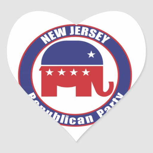 New Jersey Republican Party Stickers