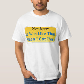 New Jersey Slogan T-Shirt