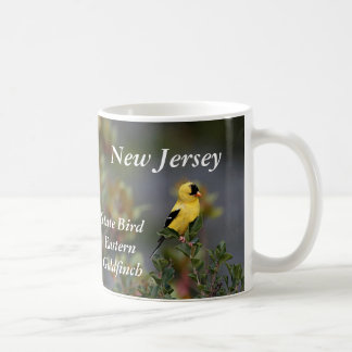 New Jersey state bird Eastern Goldfinch Coffee Mug