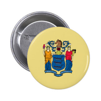new jersey state flag united america republic symb 2 inch round button