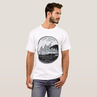 New Jersey state quarter T-shirt