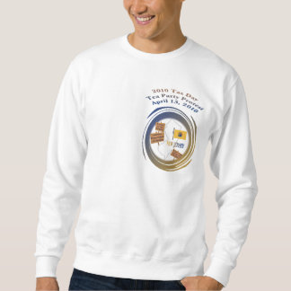 New Jersey Tax Day Tea Party Protest Sweatshirt