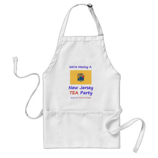 New Jersey TEA Party - We're Taxed Enough Already! Standard Apron