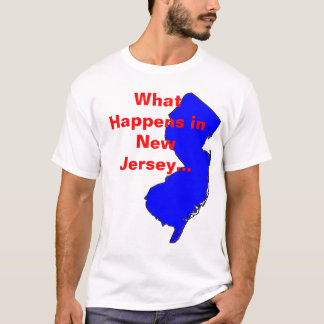 New Jersey What Happens T-Shirt